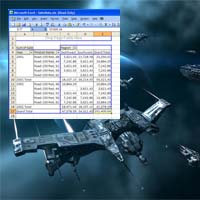 Eve Online Spreadsheets in Space