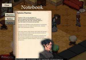 Postmortem Game Notebook